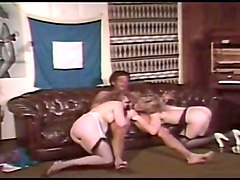 Classic retro blowjobs for facials compilation