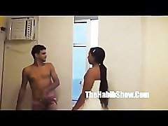 Brazilian Cheating housewife exposed to a strangers dick