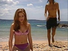 isla fisher in a bikini - home and away