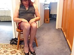 Smoothing Out new Seamed Nylons