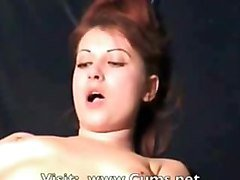 Sexy Redhead Fucked by a Fucking Machine!