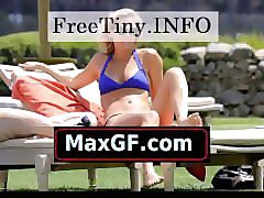 bar refaeli bikinis in italy with her boyfriend david fisher paparazzi sexy