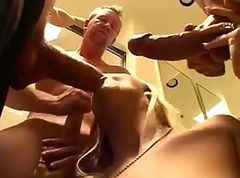 Anaal Blond Dubbel Anaal Ass