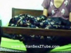 Hyderabad Newly Married Couple Having Fun On Cam