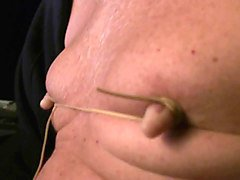nipple tie with rubber-band