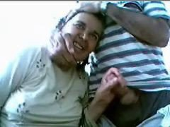 Old Couple Has Fun On Web Cam- Amateur Older