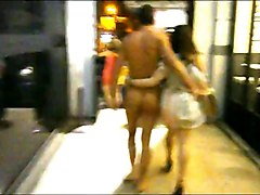 Walking Naked At Street (cfnm)