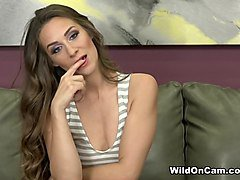 Axel Aces & Cassidy Klein in Sultry Cassidy Begs For Cock - WildOnCam
