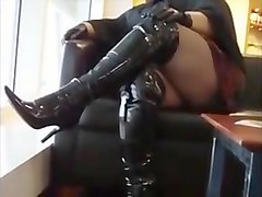 BBW in thigh boots PUBLIC