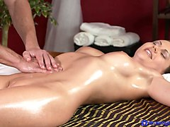 George & Tina Kay in George On Tina - MassageRooms