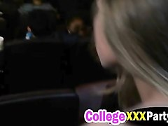 gorgeous college slut rides cock in the cinema